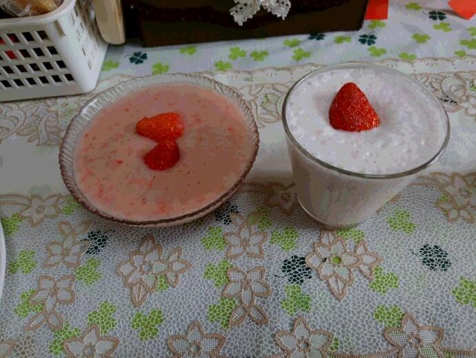 清松苺ミルク