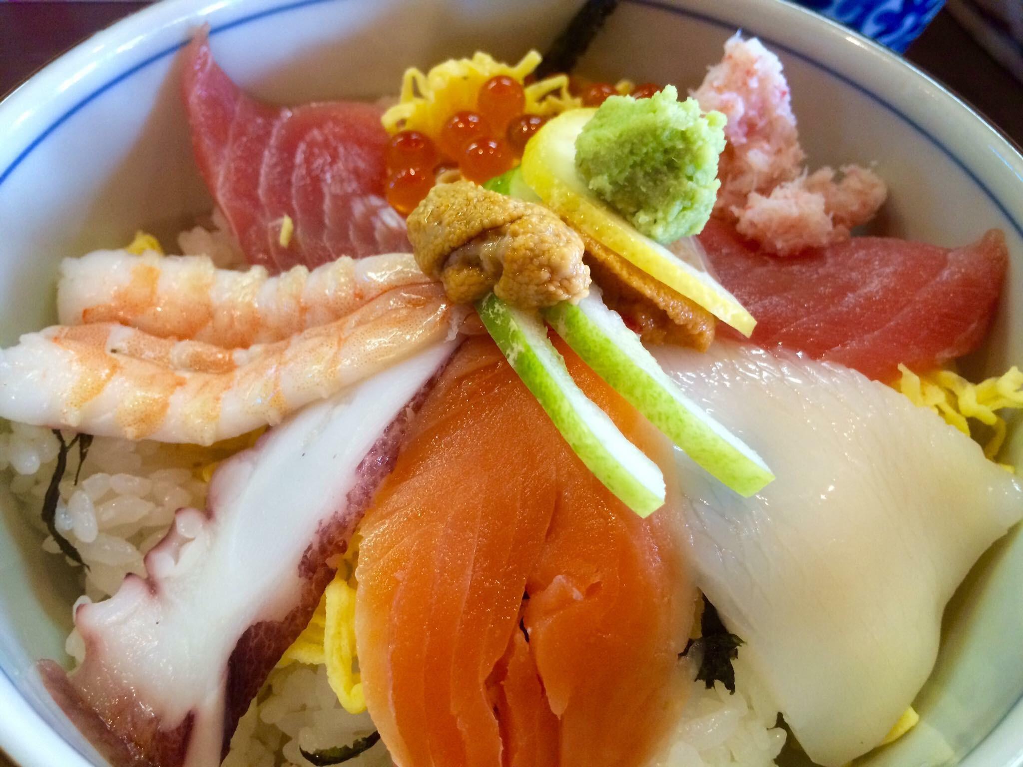 湯浅海鮮丼