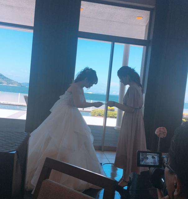 親友結婚式